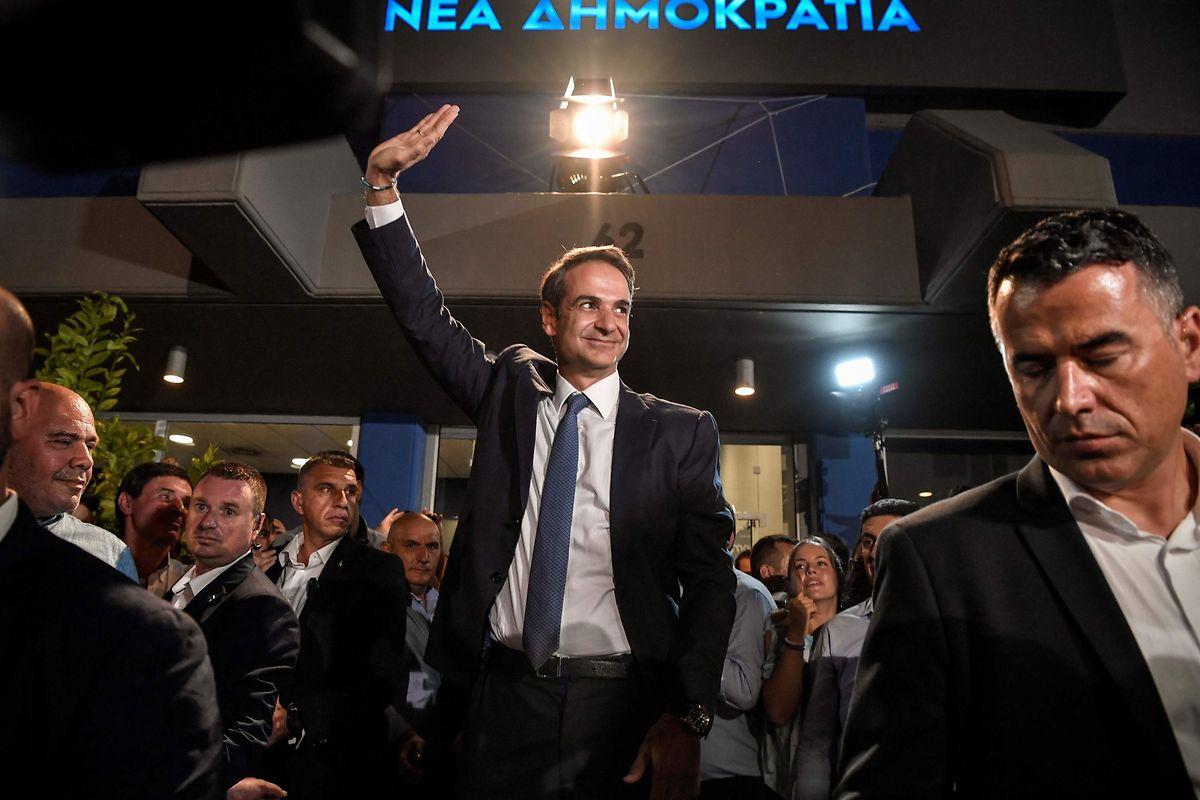 Kyriakos Mitsotakis, grand vainqueur de ces élections