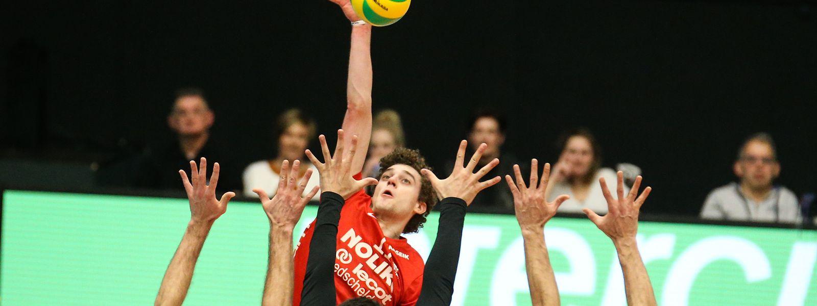 Kamil Rychlicki konnte seinem Team nicht zum Finalsieg verhelfen.