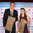 Gilles Muller et Jenny Warling, les lauréats de l'édition 2014.