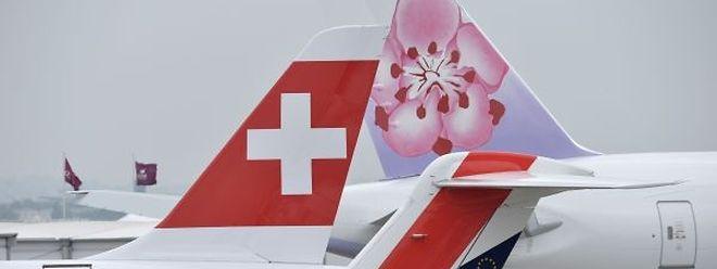 Der Salon du Bourget wird jedes Jahr zum Stelldichein für die gesamte Luftfahrtbranche.