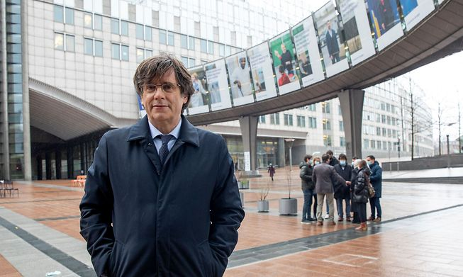 MEP Carles Puigdemont is wanted by Spain for sedition over the organisation of a banned separatist referendum in 2017
