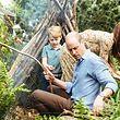 William, le fils aîné du prince de Galles a toujours fait preuve de beaucoup d'autodérision à propos de ses (rares) cheveux.