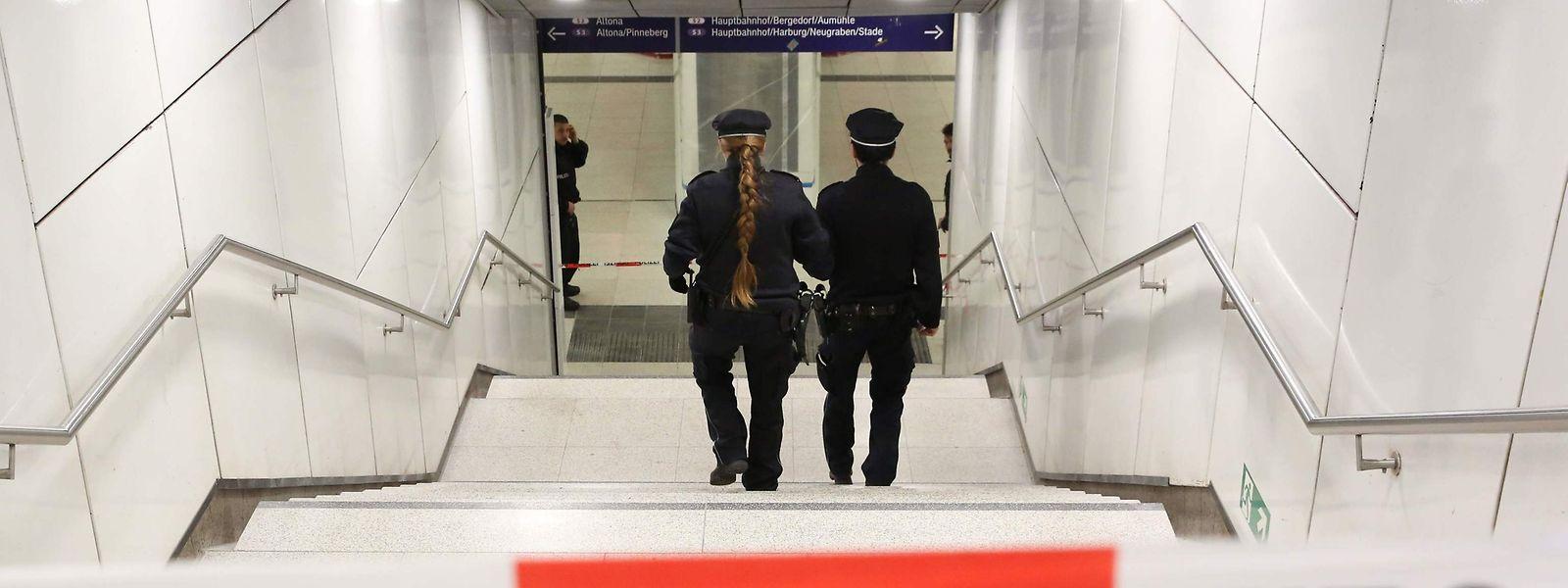 Die Tat ereignete sich am U-Bahnhof Jungfernstieg.