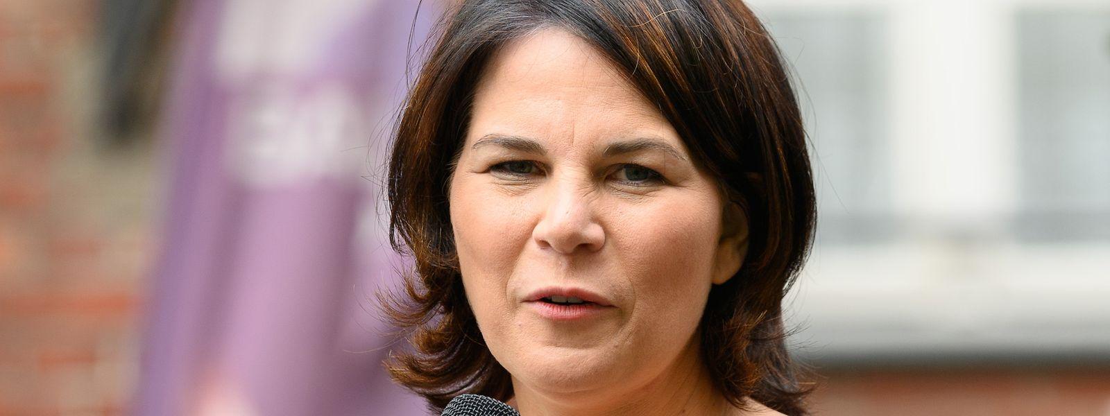 Für Annalena Baerbock, Kanzlerkandidatin und Direktkandidatin von Bündnis 90/Die Grünen, sieht es derzeit schlecht aus.