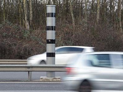 Der Blitzer in Merl, am Ende der Escher Autobahn, führte die Liste der Top-Blitzer lange Zeit an. Er wurde aber inzwischen von jenem in Schieren abgelöst.
