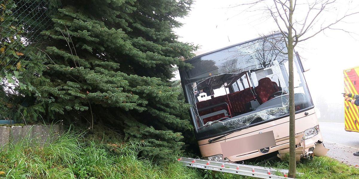 L'accident s'est produit vers 8 heures sur la route de Thionville à Alzingen.