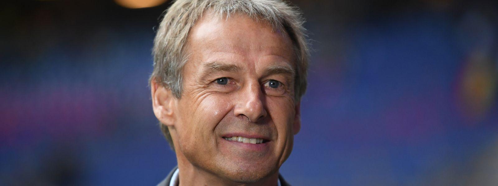 Auf Jürgen Klinsmann wartet eine neue Herausforderung.