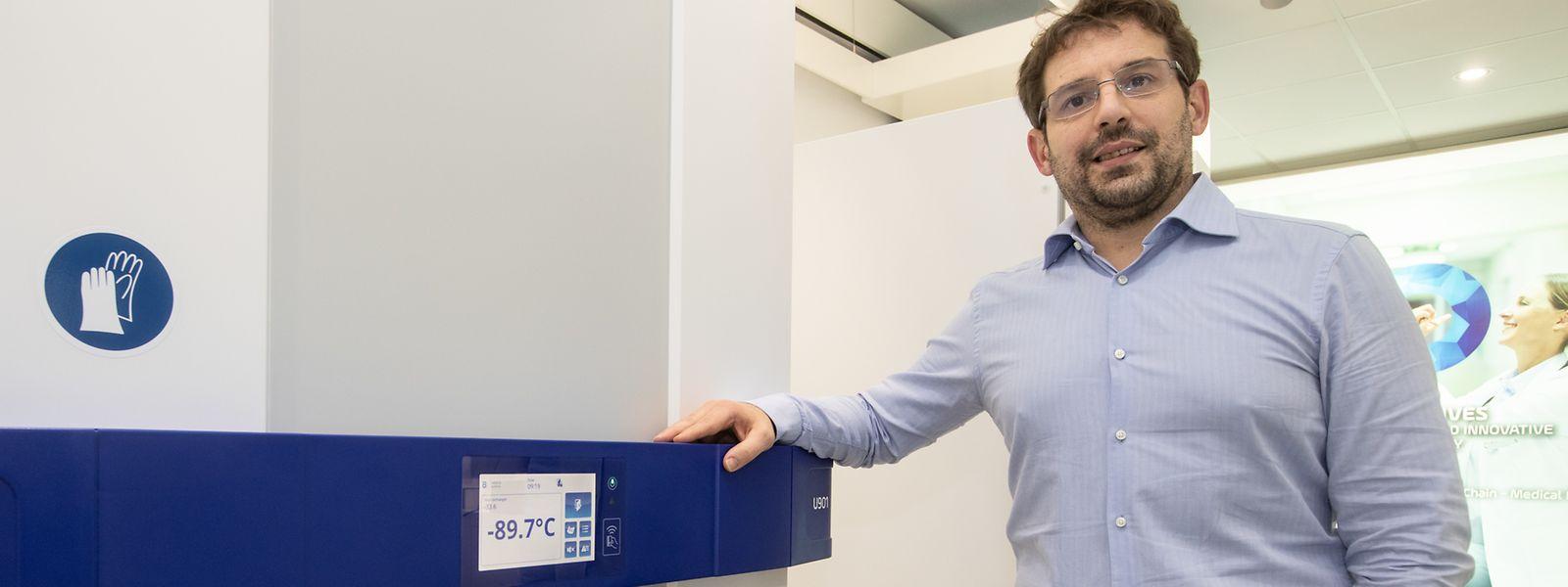 Pour Mario Treinen, directeur des opérations, c'est toute l'usine d'Hosingen qu'il a fallu réorganiser pour assurer le boom des commandes de solutions de stockage très basse température.