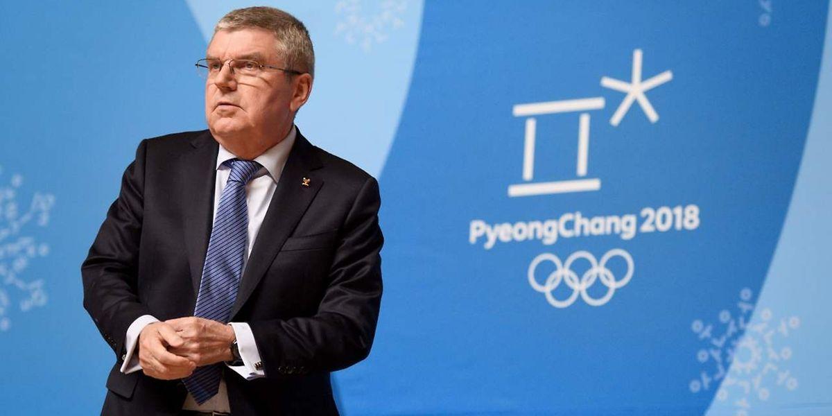 IOC-Präsident Thomas Bach hatte die CAS-Entscheidung am Sonntag scharf kritisiert.