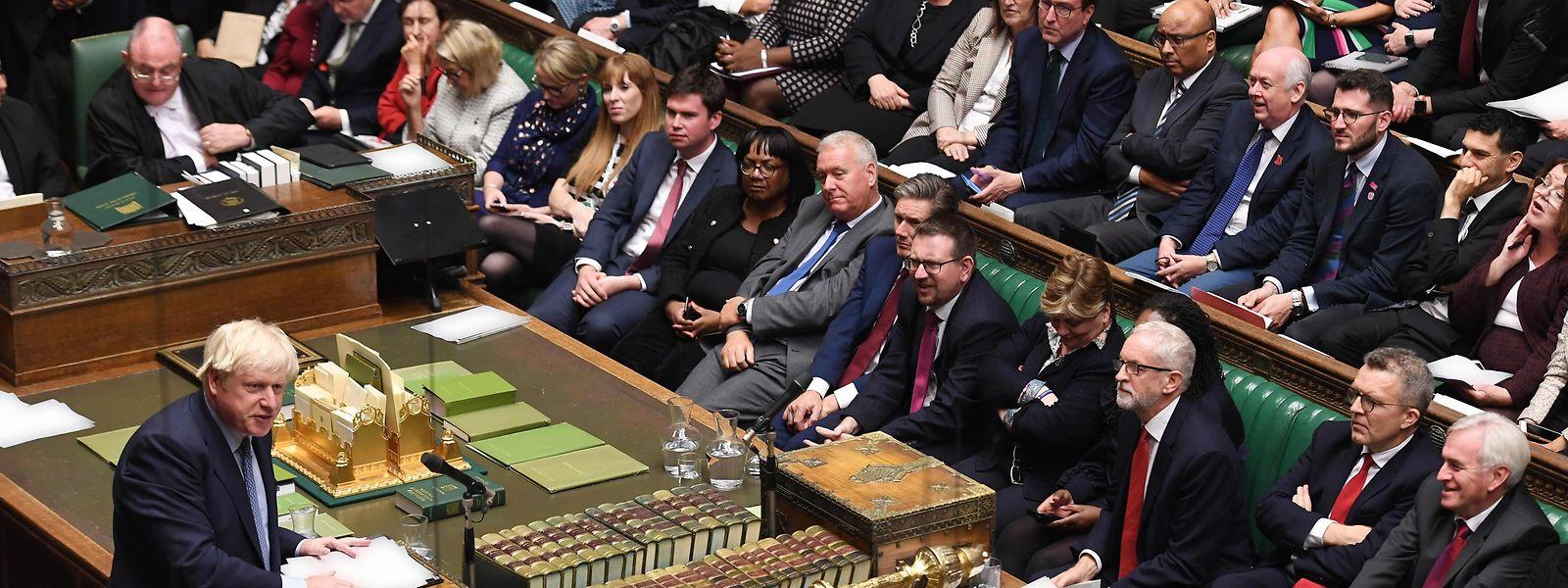 Boris Johnson, tel un fauve dans l'arène