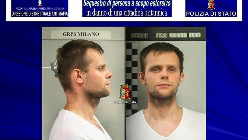 Italien: Britisches Model entführt