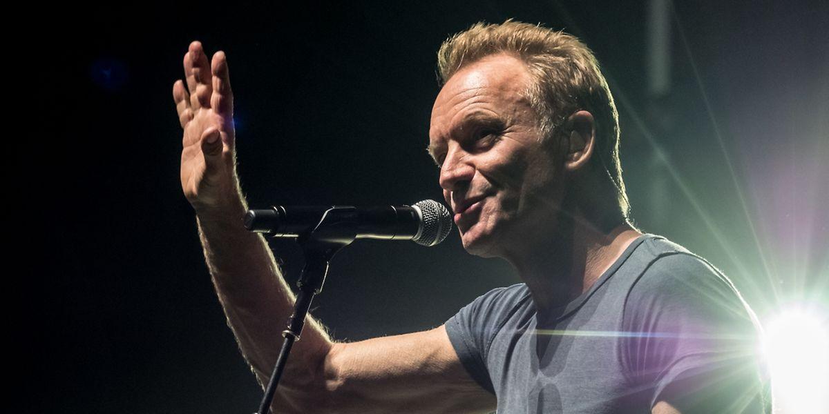 Sting sieht gut aus – sogar sehr gut.