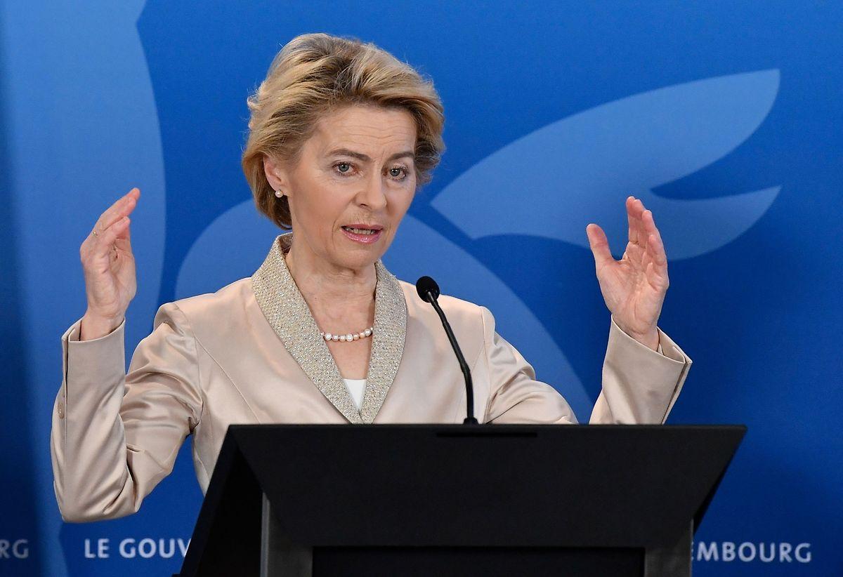 Kommisionspräsidentin von der Leyen will am Dienstag die ersten Details zum Green Deal bekannt geben.