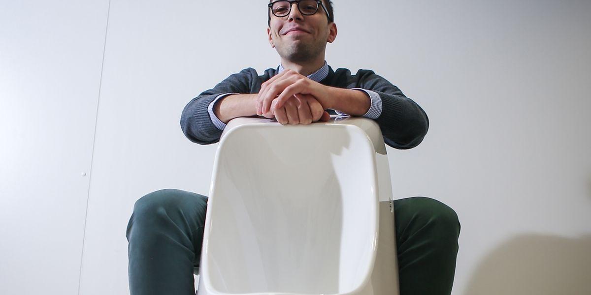 A 26 ans, Edmond Jreige est parti pour aller loin, dans la lignée des entrepreneurs de l'écoinnovation trop méconnus au Luxembourg