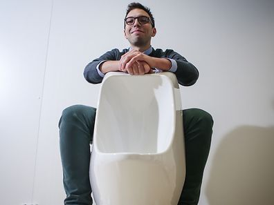 Entrepreneur Edmond Jreige, pictured, hopes to bring crowdfunded green technology to Luxembourg