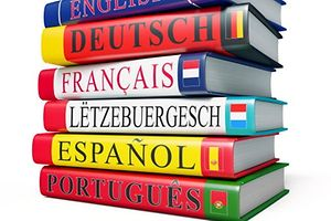 Luxemburger Sprache, Letzebuerger Sprooch, Lëtzebuerger Sproch, Bücher, Dictionnaire, Wörterbuch, Sprache, Luxemburg, International (Foto: Shutterstock)