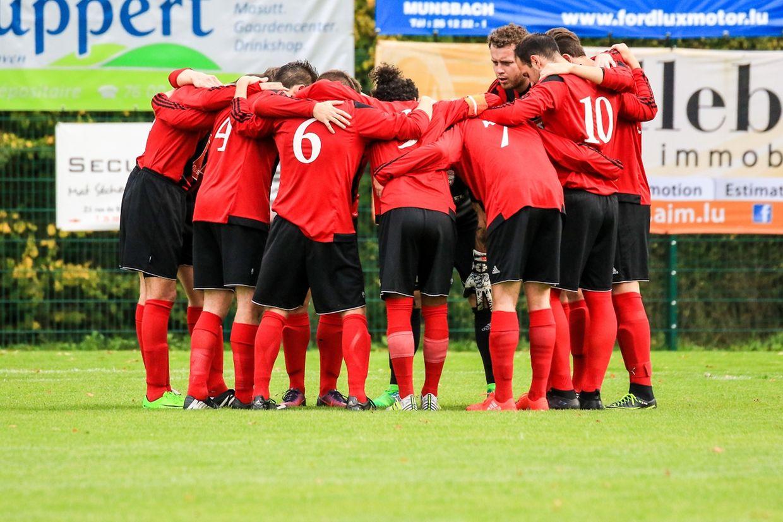 Ultimes moments de concentration pour les joueurs du FC Koerich. Les promus ont battu Useldange 3-2.