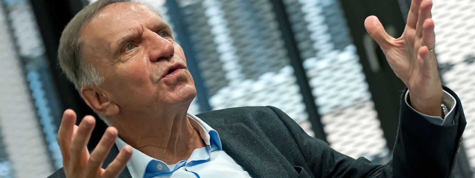 """Marc Solvi ist Präsident von """"Da Vinci"""" und selbst Ingenieur - seine Berufswahl hat er nie bereut."""