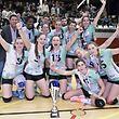 Walferdingen / Volleyball / Coupe de Luxembourg Frauen, Finale / Walferdingen - Steinfort / 11.02.2017 / Centre Sportif Belair, Luxemburg / Foto: Christian Kemp