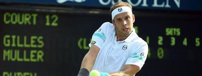 Gilles Muller connaît son adversaire au 1er tour de l'US Open: ce sera le Français Gaël Monfils, n°12 mondial