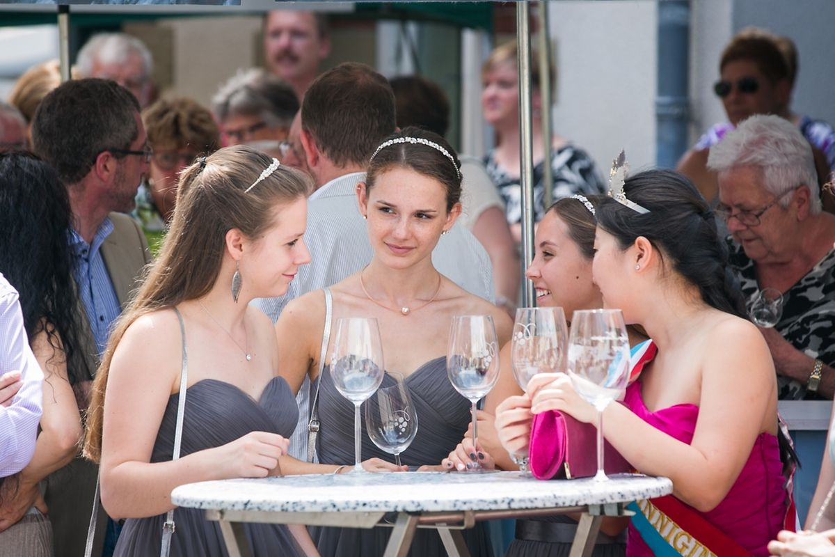 """Das """"Ohner Wäifest"""" bildet jedes Jahr den Auftakt der Saison der beliebten Weinfeste an der Mosel."""