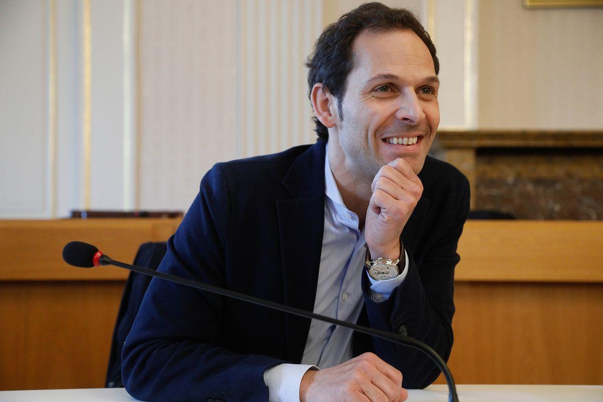 Der Düdelinger Bürgermeister, Dan Biancalana, präsentierte am Mittwochmorgen das neue Projekt.