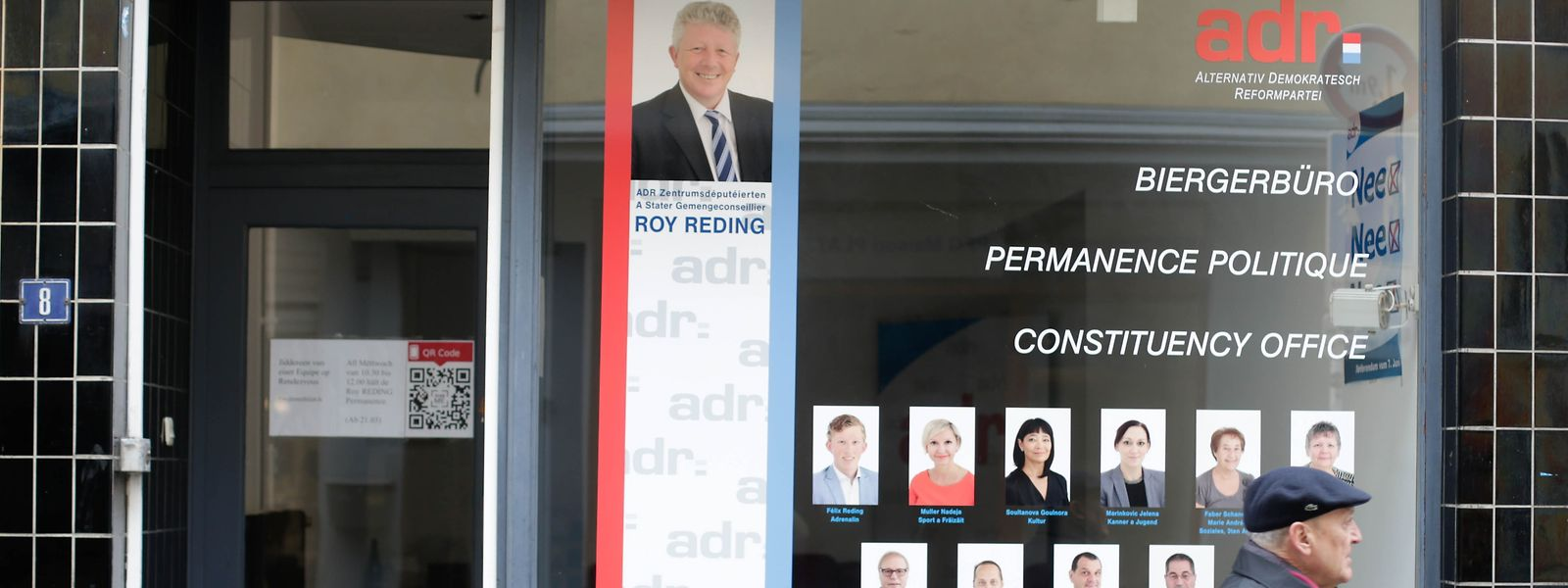Das Bürgerbüro der ADR sorgt für Diskussionsstoff.