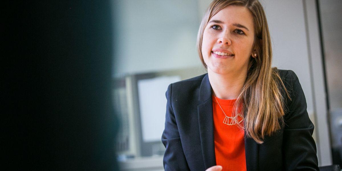Für die Landeswahlen hat die 27-jährige Rechtsanwältin und CSJ-Präsidentin Elisabeth Margue einen Listenplatz erhalten. Sie wünscht sich mehr Nachwuchspolitiker auf den CSV-Listen.