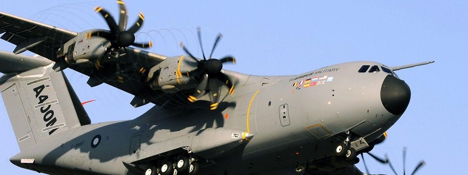 Das Militärflugzeug A400M wird nicht wie geplant nahe Brüssel stationiert, sondern im wallonischen Florennes.
