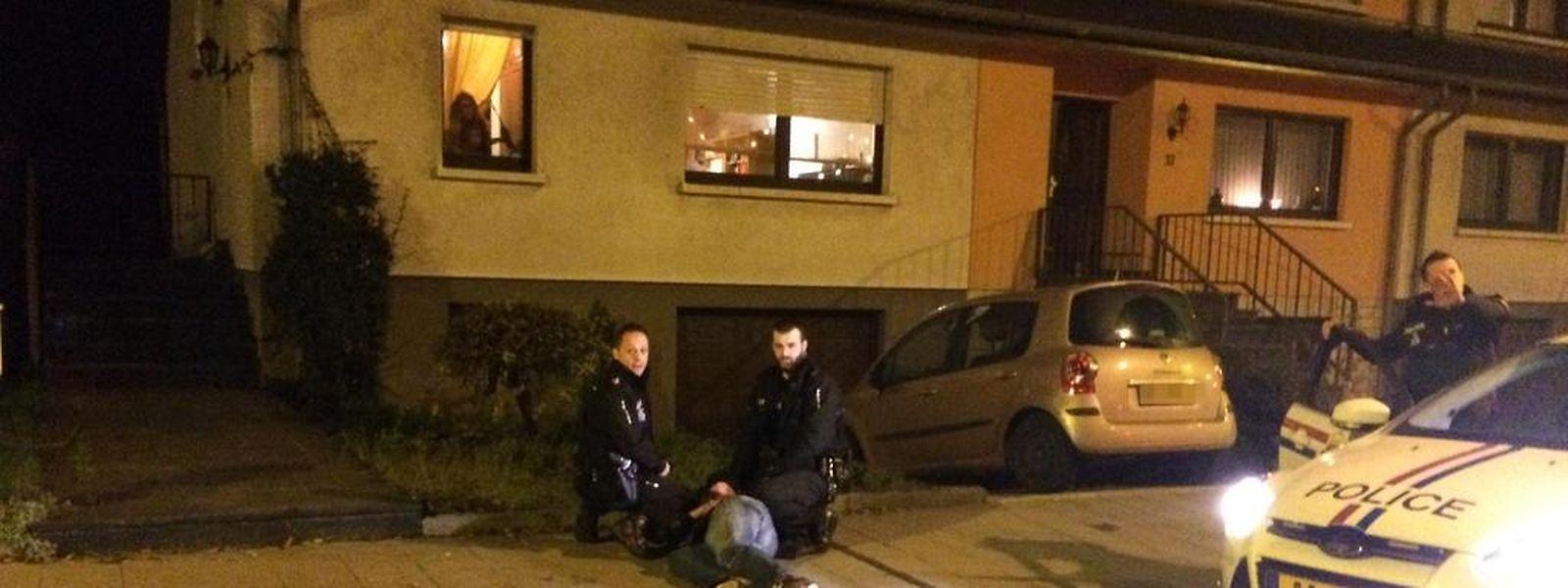 Für viel Aufregung sorgte ein Polizeieinsatz am Freitagabend in Gasperich. Die beiden festgenommenen Männer sind heute wieder auf freiem Fuß.