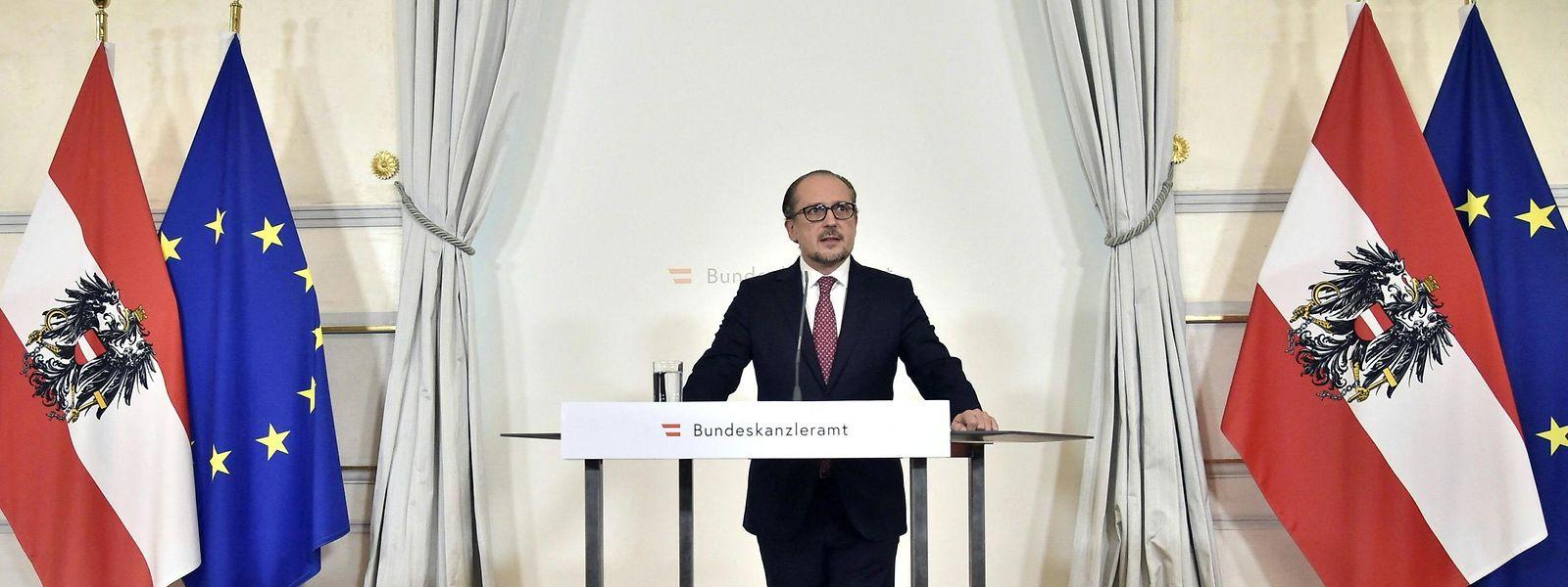 Alexander Schallenberg ist der neue österreichische Bundeskanzler.
