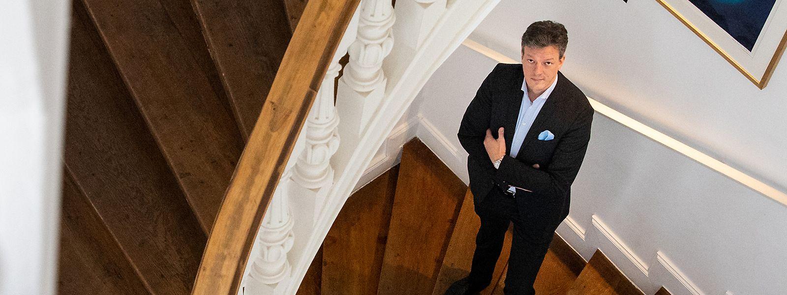 Der 44-jährige Cyrille Gerhardt hat sich mit seinem in Düdelingen niedergelassenen Unternehmen Smell Marketing auf die Kreation von Duftidentitäten spezialisiert.