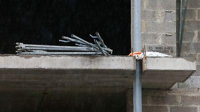 27.06.2017 Luxembourg, Kayl, chantier, Kayl, Baustopp photo Anouk Antony