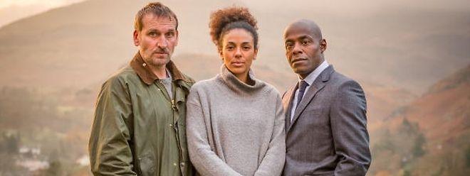 Überzeugen: Christopher Ecclestone (Robert), Marsha Thomas (Katy) und Paterson Joseph (Mark).