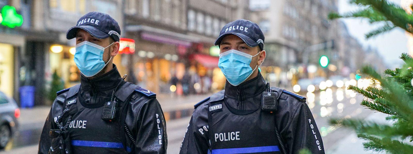 Polizisten könnte bald die Möglichkeit zustehen, einzelne Personen von einem Ort zu verweisen.
