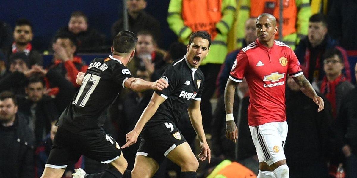 Wissam Ben Yedder est sorti de sa boîte tel un diable pour torpiller Manchester United.