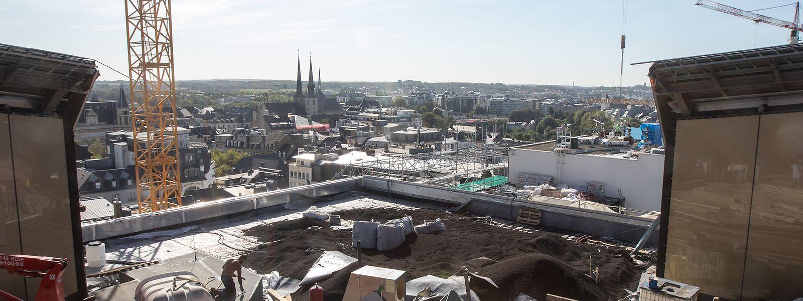 Un des atouts du site délaissé par Manko reste la vue dégagée sur la capitale.