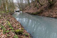 Lokales, Drosbach Sperre/Staudamm, Wasserverschmutzung, Foto: Lex Kleren/Luxemburger Wort