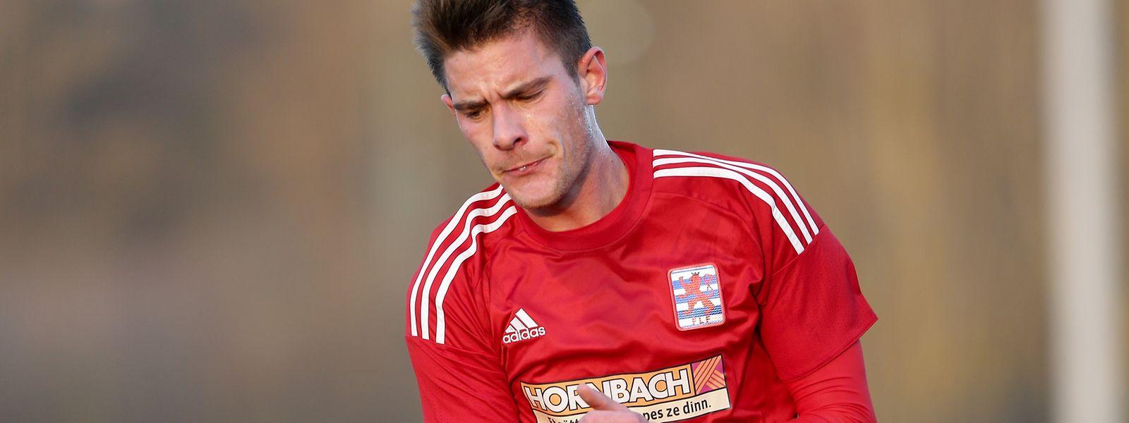 David Turpel erzielte in der 20.' das 1:0 für Luxemburg.