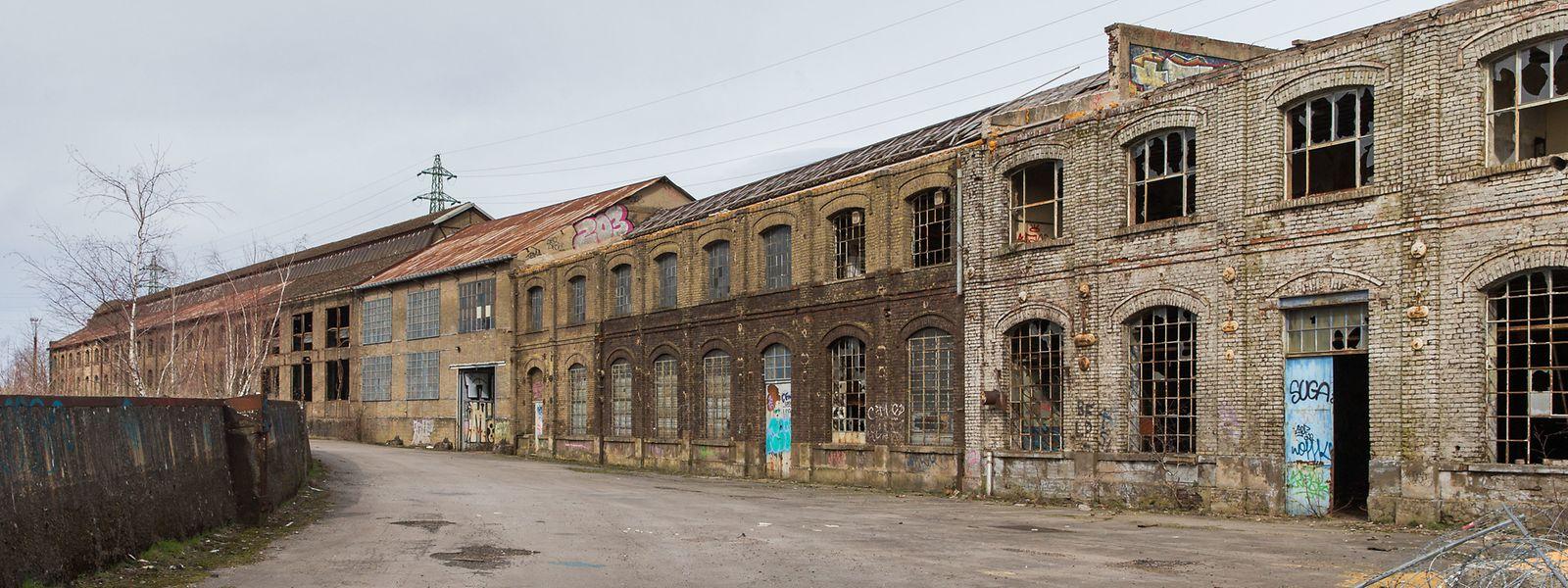 Nach und nach wurden die Werkstätten ausgebaut.