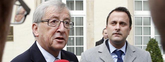 Nach einem ersten Treffen Ende Oktober kommen Premierminister Juncker und Formateur Xavier Bettel am Dienstag erneut zusammen, um die anstehenden Terminfragen zu klären.
