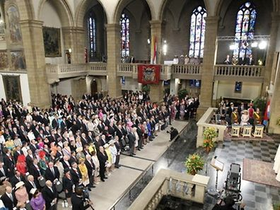 A view of Notre Dame cathedral in Luxembourg where the official Te Deum is held. If you miss this service, the Anglican Church of Luxembourg will organise its first Te Deum on Sunday