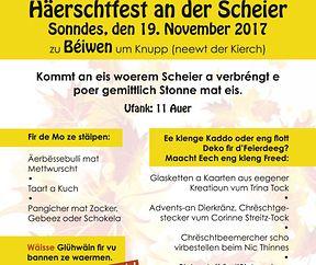 Haerschtfest zu Béiwen
