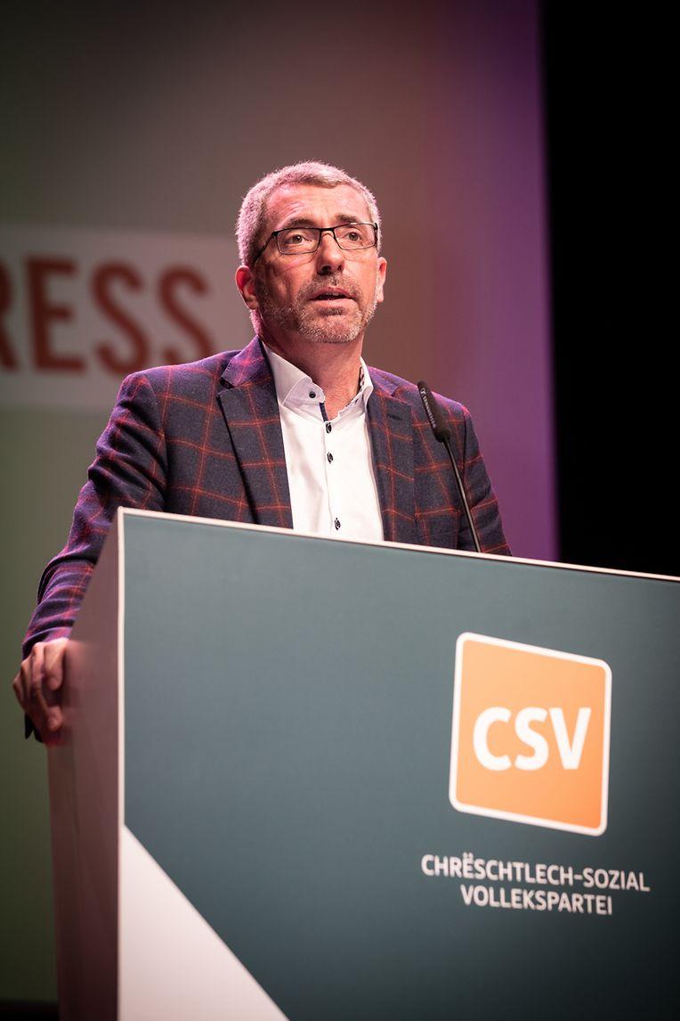 Der CSV-Kongress wurde aus dem Artikuss in Zolwer live übertragen.