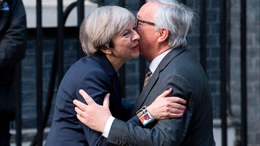 Premierministerin May zu Brexit-Gesprächen in Brüssel