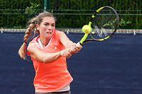 Tennis nationale Interclubmeisterschaft der Frauen TC Arquebusiers gegen Tennis Spora in Luxemburg am 16.06.2018 Eleonora MOLINARO (TC A)