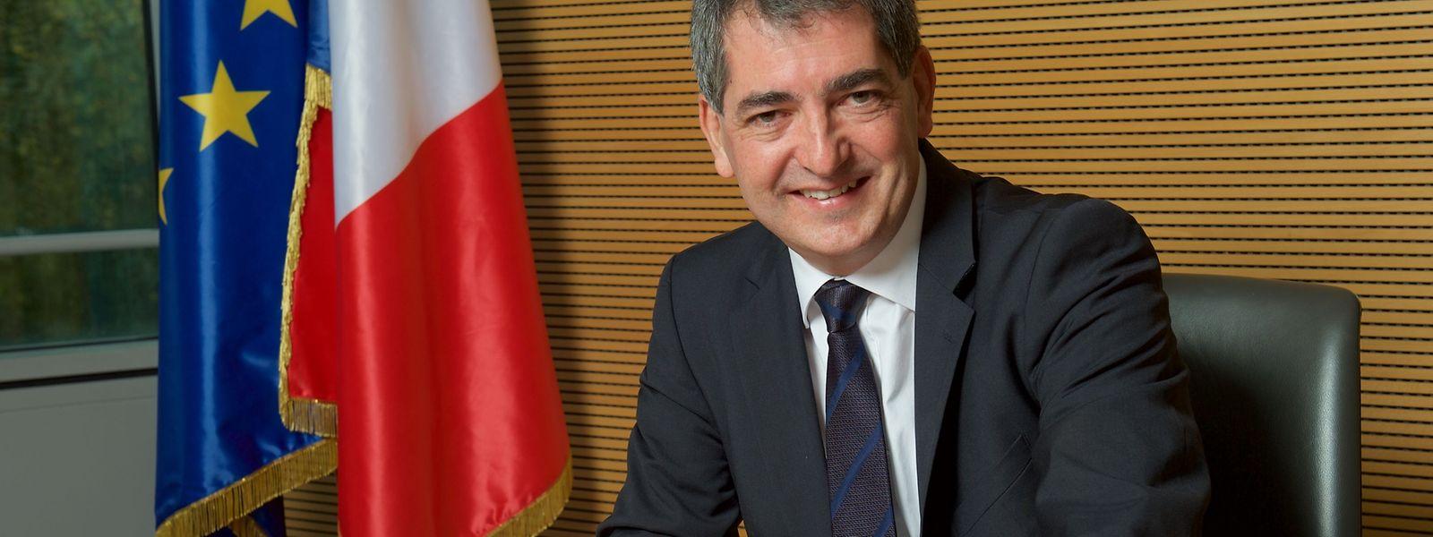 A 51 ans, Jean Rottner préside la région Grand Est, qui s'étend de Reims à Strasbourg, depuis octobre dernier.
