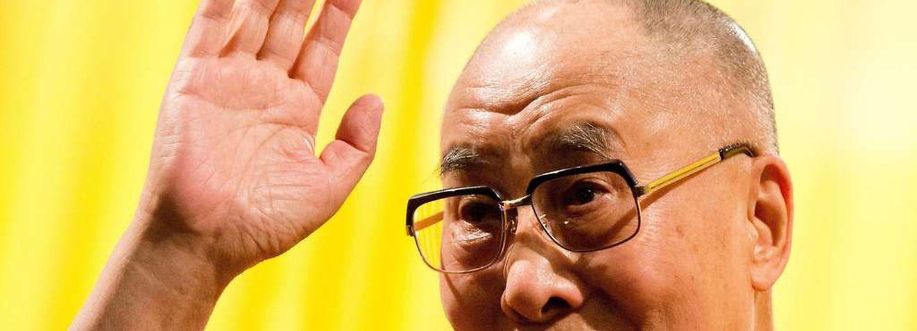 Sonst ein gern gesehener Gast, aber in Südafrika unerwünscht: der Dalai Lama.