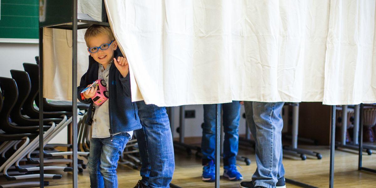 Elections communales à Mamer, en 2017.