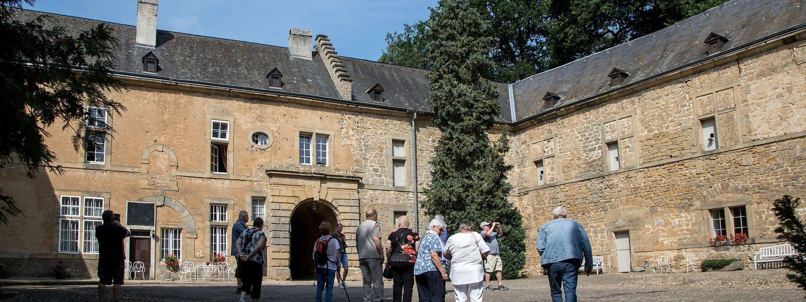 Im Schlosshof des Renaissanceschloss werden diesen Sommer Clubkonzerte stattfinden.